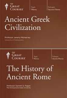(Set) Ancient Greek Civilization & History of Ancient Rome