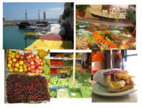 Rethymnon and the culinary bounty available