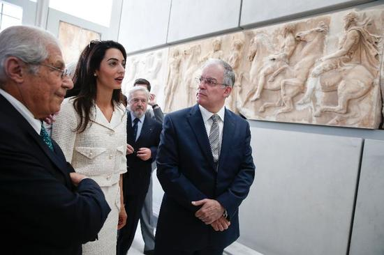 Amal Clooney to advise Greece on the repatriation of Parthenon Sculptures from England