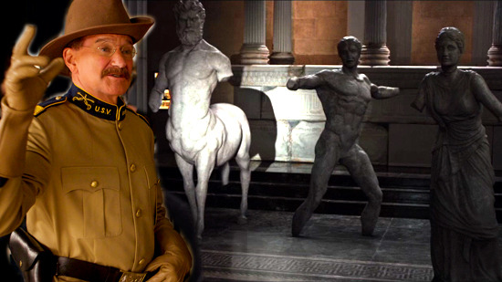 Video: Robin Williams at the Parthenon Marbles in London