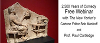 2500th Anniversary of the First Comedy in Athens in 486BC - Free Webinar