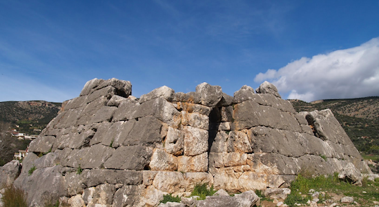The Pyramids of Greece (not a typo)