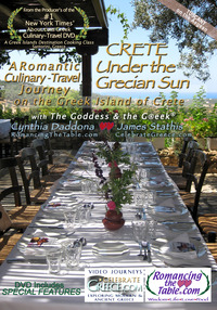 Crete - Under the Grecian Sun, A Romantic Culinary-Travel Journey