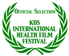 photo official selection 2010 Kos International Health Film Festival logo and wreath