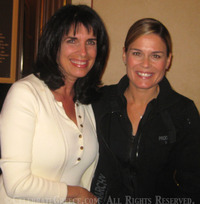 Cat Cora, Iron Chef America Winner
