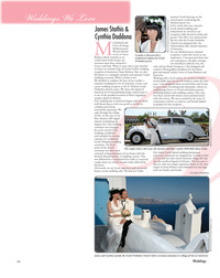 The Goddess and the Greek™ in Wedding Magazine