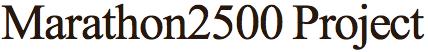 Marathon 2500