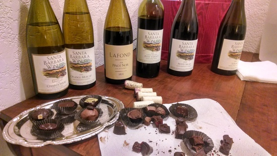 Chocolate & Wine for Valentine's, Part 1