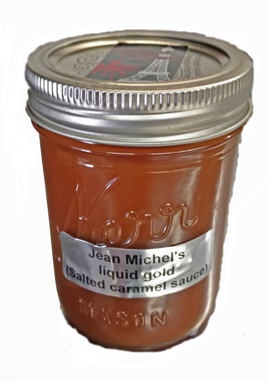 Jean Michel's liquid gold, 9oz jar