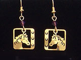 American Mustang Earrings