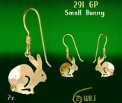 Small Bunny Earrings