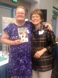Miss B with Barbara Greenleaf