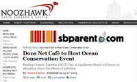 Dons Net Caf Hosts Ocean Conservation Event