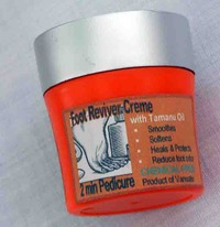 Foot Reviver Creme - The 2 Minute Pedicure