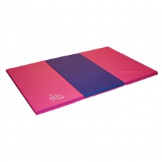 Nastia 4'x6' Pink and Purple Gymnastics Mat