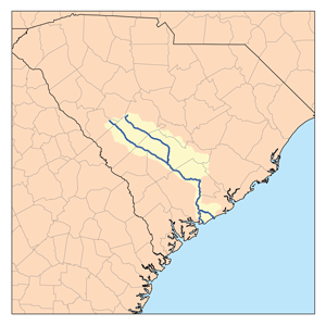 The Edisto River watershed | Wikimedia