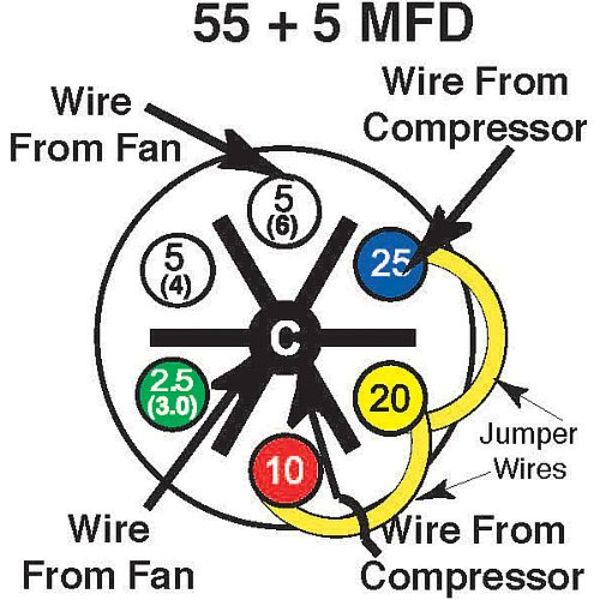 55_5?1390838571 55 5 mfd turbo 200 installation instructions amrad Hard Start Capacitor Wiring Diagram at n-0.co