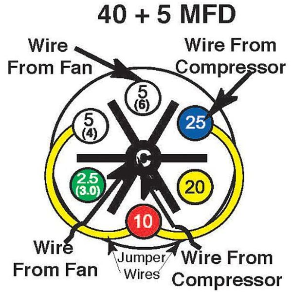40_5?1390414906 40 5 mfd turbo 200 installation instructions amrad Hard Start Capacitor Wiring Diagram at n-0.co