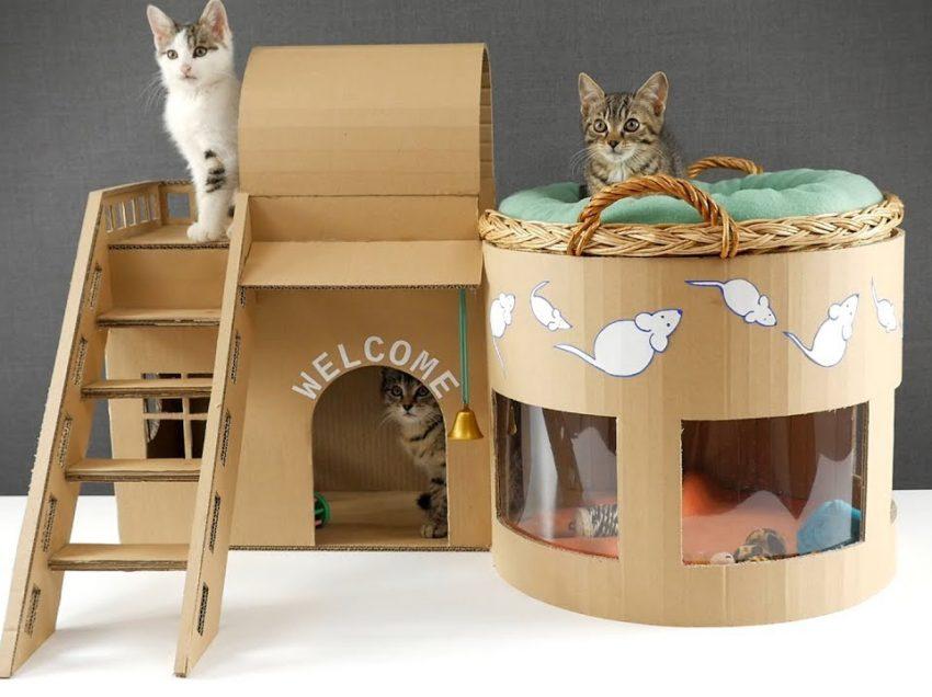 5 Minimalist Cat House Design Ideas For Indoor