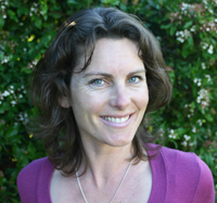 Kara-Leah Grant author of Forty Days of Yoga