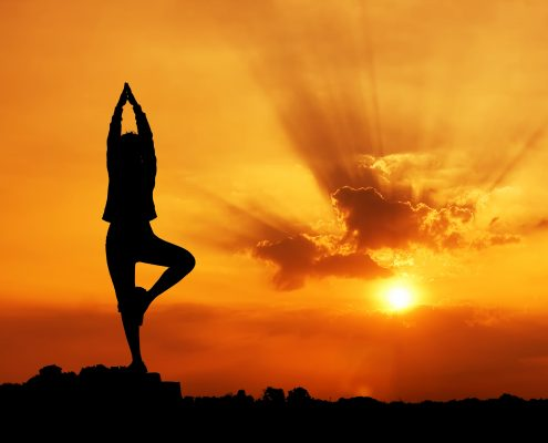 Yoga Poses and Exercises Video Sunrise Picture