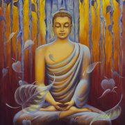 Buddha Doing Zen Meditation