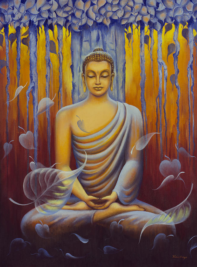 Famous Art Paintings Of Buddha