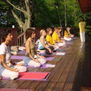 Meditation Practice in Ashrams