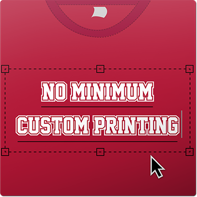 No Minimum Printing