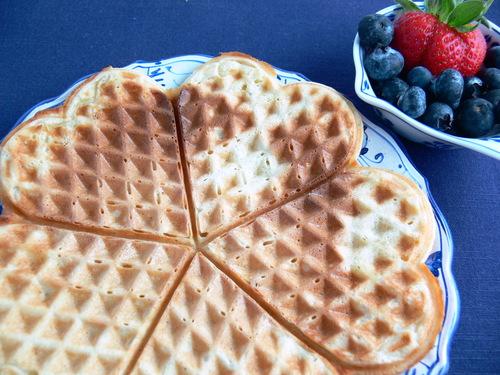Waffle Hearts - Norwegian Waffles (Vaffler)