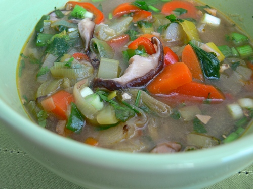 Shiitake Lemongrass Soup