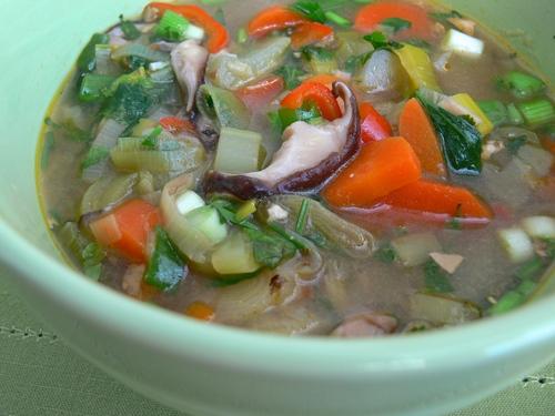 Shiitake Lemongrass Soup