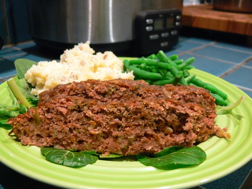 Anne's Messed-With Meatloaf