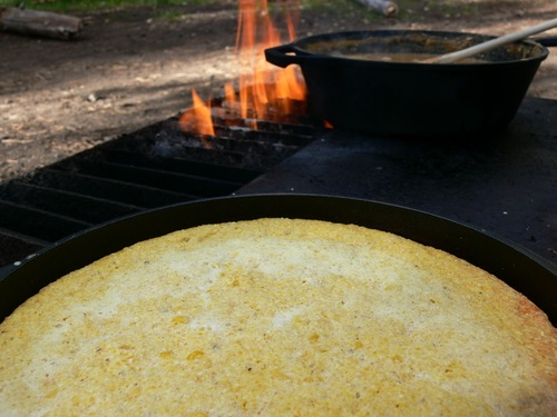 Campfire Cornbread