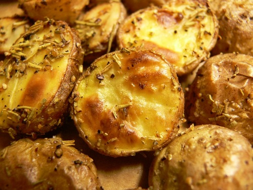 Roasted Mini Potatoes