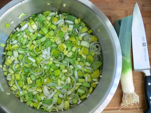 How To: Chop and Wash Leeks