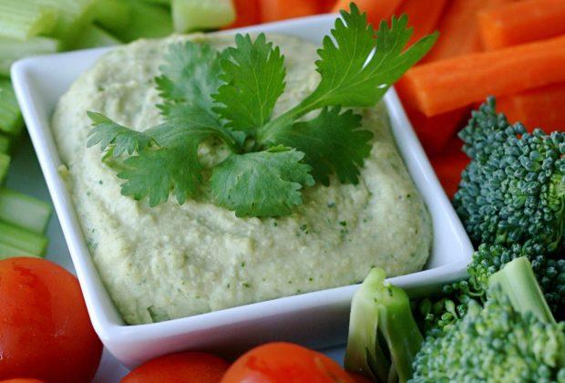 Cilantro Jalapeno Hummus