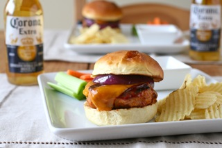 Barbecue Chicken Burgers
