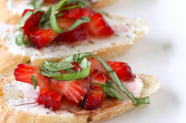 Strawberry Bruschetta