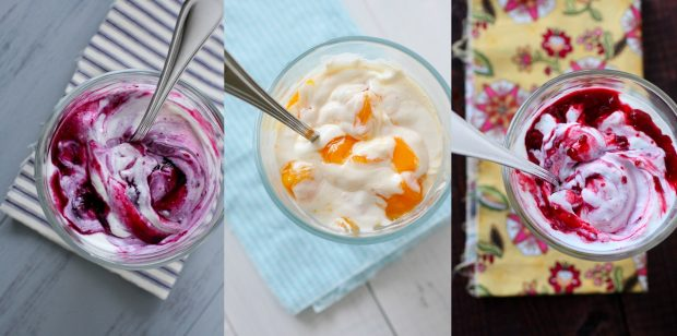 DIY Yogurt Mix-Ins: Blueberry, Raspberry, and Peach