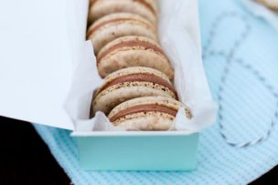 Hazelnut <span class='searchwp-highlight'>Macarons</span> with Nutella Filling