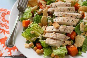 Butternut Squash Chickpea Salad