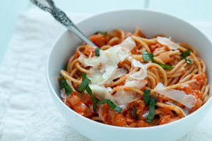 Tomato Mascarpone Pasta