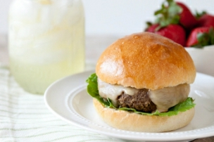 Mushroom Gouda Burgers