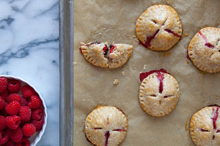 Raspberry Dark Chocolate Hand Pies