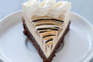 Peanut Butter Ice Cream Brownie Pie