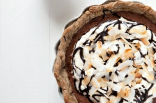 Mocha Coconut Pie