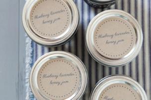 Blueberry Lavender Honey Jam