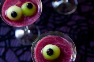 Spooky Eyeballtini {Mocktail}