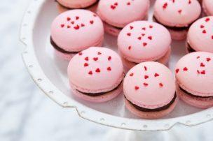 Cherry Chocolate <span class='searchwp-highlight'>Macarons</span>